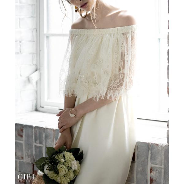 ウェディングドレス パーティードレス ドレス ワンピース 大きいサイズ 30代 20代 結婚式 二次会 花嫁 レディース 袖付き 半袖|girl-k|10