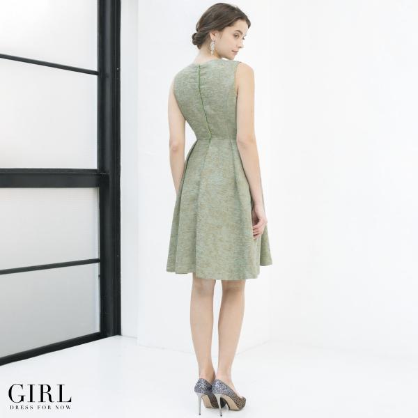 ドレス ワンピース パーティードレス 大きいサイズ お呼ばれ 他と被らない 30代 20代 結婚式 ドレス 二次会 ゲストドレス レディース 袖なし ノースリーブ|girl-k|12