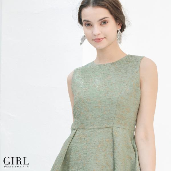 ドレス ワンピース パーティードレス 大きいサイズ お呼ばれ 他と被らない 30代 20代 結婚式 ドレス 二次会 ゲストドレス レディース 袖なし ノースリーブ|girl-k|14