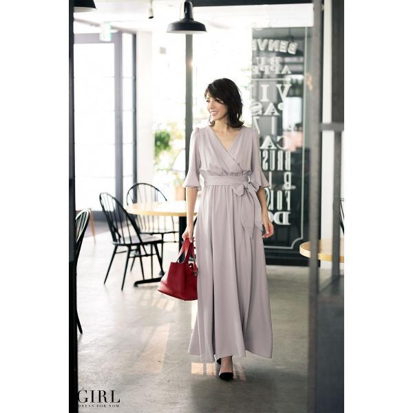 パーティードレス モデル美香着用 ワンピース 結婚式 ドレス ボトムス スカート お呼ばれ 大きいサイズ パーティー|girl-k|02