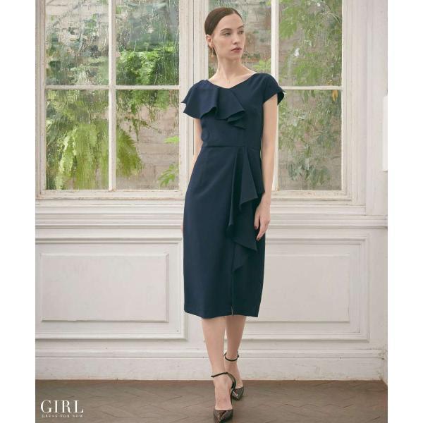b4273d9bd25a1 ... ドレス ワンピース パーティードレス 大きいサイズ お呼ばれ 他と被らない 30代 20代 ...