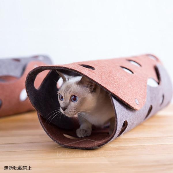 猫 おもちゃ トンネル 布 ファブリック OPPO(オッポ) FabCat tunnel ファブキャットトンネル OT-669-500-0