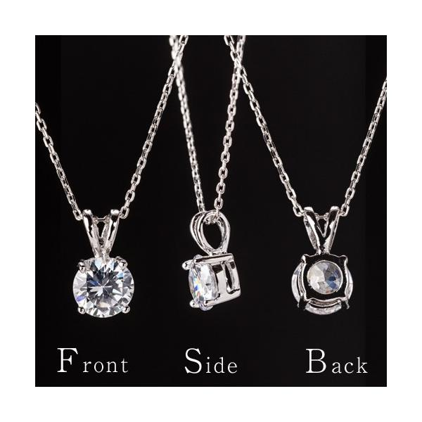 ネックレス スワロフスキー ファンシーピンク シルバー925デザインネックレス CZダイヤモンド|gisell|02