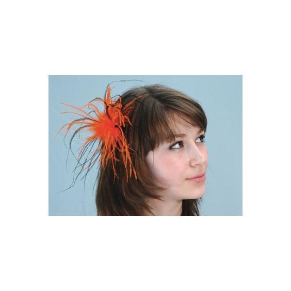 ハロウィン グッズ コスプレ ヘアークリップ Feather Hair Clip コスチューム 仮装 衣装 イベント HALLOWEEN|gita