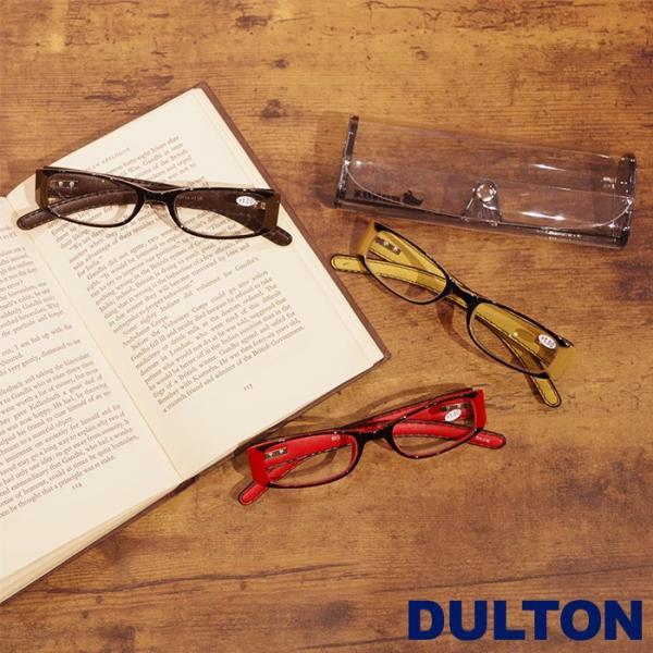 メール便 老眼鏡 おしゃれ レディース メンズ シニアグラス 女性 リーディンググラス DULTON ダルトン YGF43 ケース付き 父の日