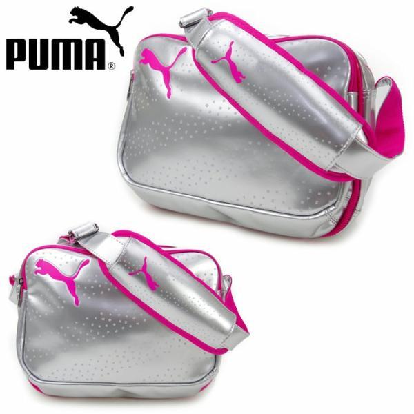 エナメルバック スポーツバッグ プーマ PUMA TSキャット 073276 ショルダーバッグ 通学 gita