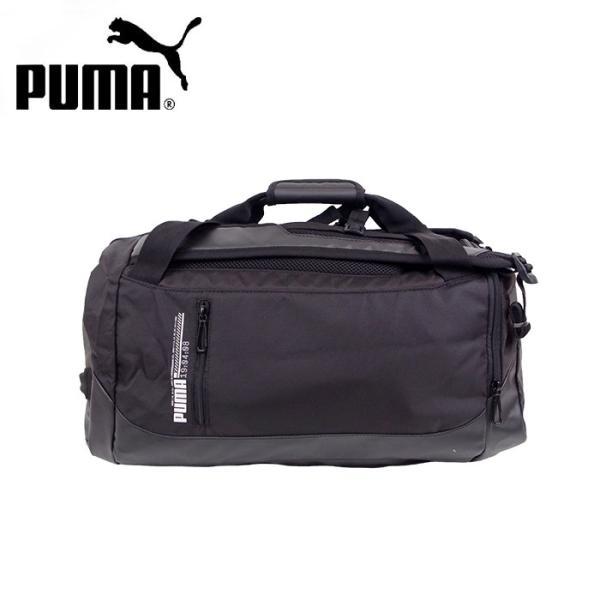 PUMA プーマ ボストンバッグ 2WAY リュック 大容量 ダッフルバッグ エナジー メンズ/レディース ブラック 40L 075763 リュックサック 送料無料 gita