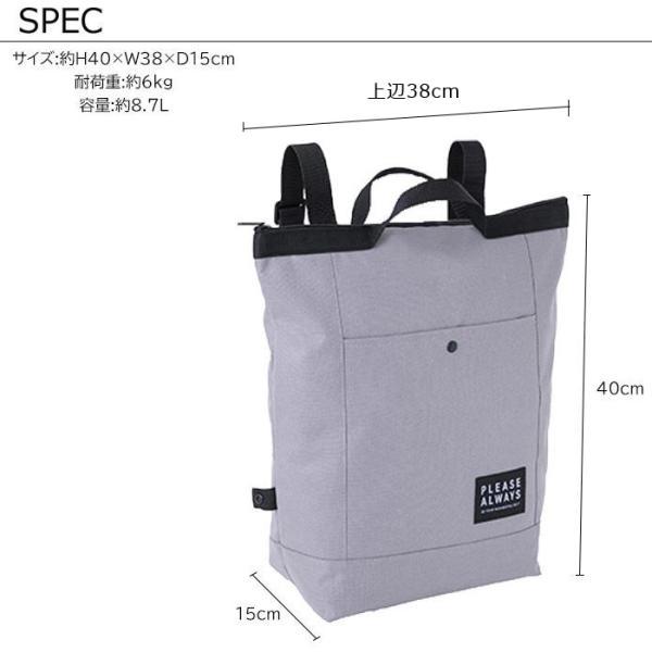 メール便 保冷バッグ リュック 保冷リュック 大容量 レディース コンパクト 折りたたみ LIFE PLUS 8.7L M13642 M13643
