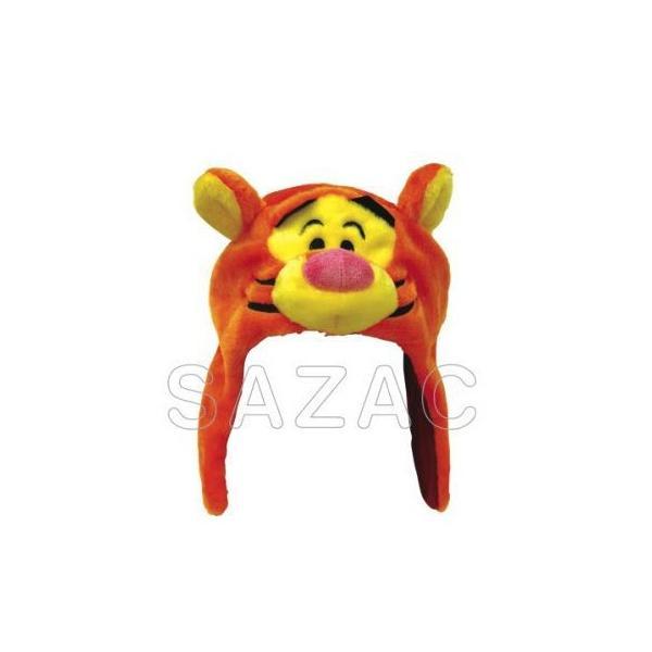 メール便 ハロウィン 仮装 コスプレ 着ぐるみ帽子 ディズニー 着ぐるみ ティガー kti084 なりきり帽子 かぶりもの 衣装|gita