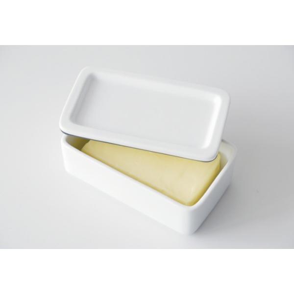 バターケース 磁器 おしゃれ KitchenTool 保存容器 バター入れ カフェ キッチン小物|gita|02