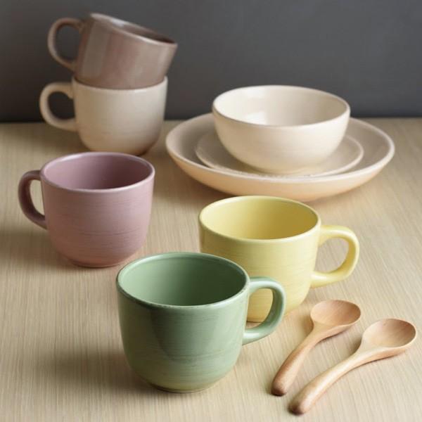 KINTO カップ スプーン付き マグカップ オーガニック ORGANIC グリーン おしゃれ コップ マグ カフェ コーヒー 持ちやすい 食器 gita 02