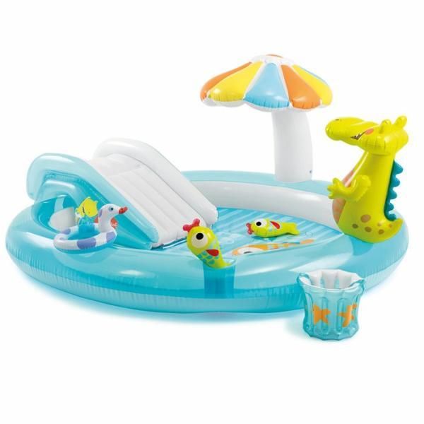 ビニールプール プール インテックス INTEX 57129 GATOR PLAY CENTER ファミリープール 家庭用プール 子供用プール アウトドア レジャー 送料無料|gita