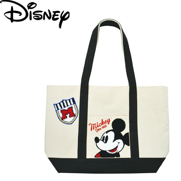 トートバッグ ディズニー Disney ミッキー DN BIG サガラ Ver レディース/メンズ/キッズ 9425 マザーズバッグ レジャー かわいい 送料無料