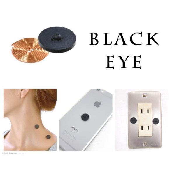 丸山式 コイル ブラックアイ 6個入り 電磁波対策 肩 こり 解消グッズ 首 腰痛 背中|gjweb|02
