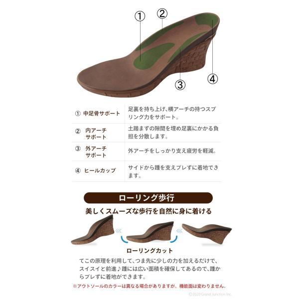 リゲッタ サンダル レディース ウェッジソール コンフォート 厚底 ヒール リゾート ミュール sandal|gjweb|16