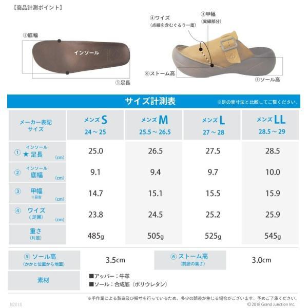 リゲッタカヌー サンダル メンズ ベルト付き本革レザーサボ プレミアム セール SALE|gjweb|15
