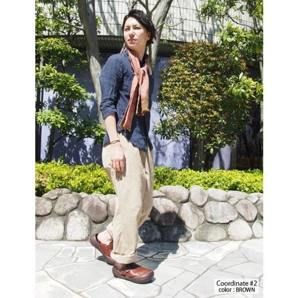 リゲッタカヌー サンダル メンズ ベルト付き本革レザーサボ プレミアム セール SALE|gjweb|05