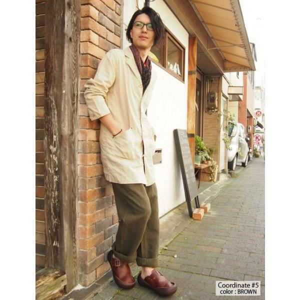 リゲッタカヌー サンダル メンズ ベルト付き本革レザーサボ プレミアム セール SALE|gjweb|06