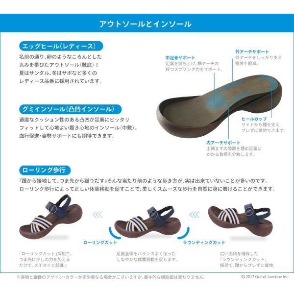 リゲッタカヌー レディース サンダル ゴムストライプ ベルト sandal|gjweb|05