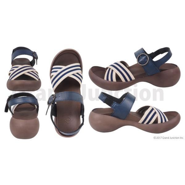 リゲッタカヌー レディース サンダル ゴムストライプ ベルト sandal|gjweb|06