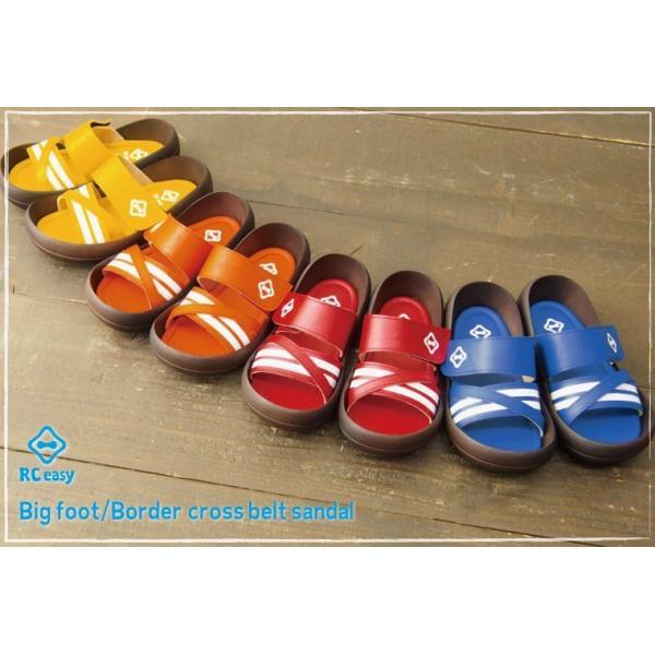 リゲッタカヌー サンダル キッズ 履きやすい クロス ベルト ボーダー sandal プレミアム セール SALE|gjweb|02