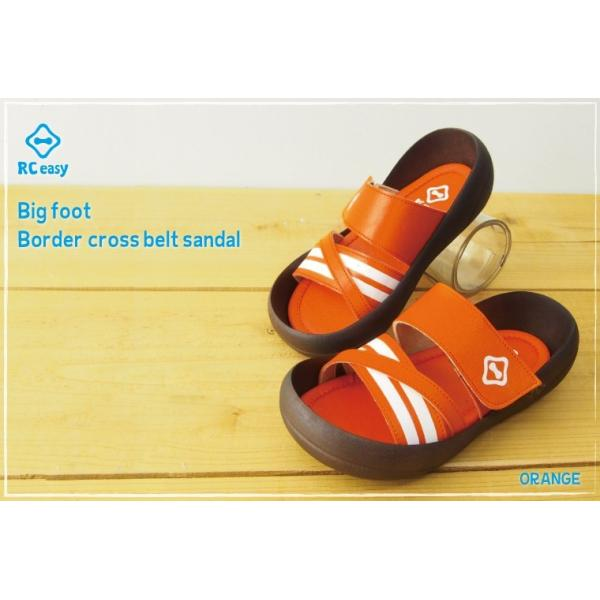 リゲッタカヌー サンダル キッズ 履きやすい クロス ベルト ボーダー sandal プレミアム セール SALE|gjweb|03