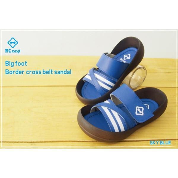 リゲッタカヌー サンダル キッズ 履きやすい クロス ベルト ボーダー sandal プレミアム セール SALE|gjweb|04
