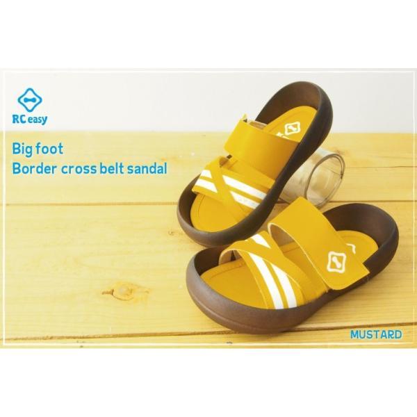 リゲッタカヌー サンダル キッズ 履きやすい クロス ベルト ボーダー sandal プレミアム セール SALE|gjweb|05