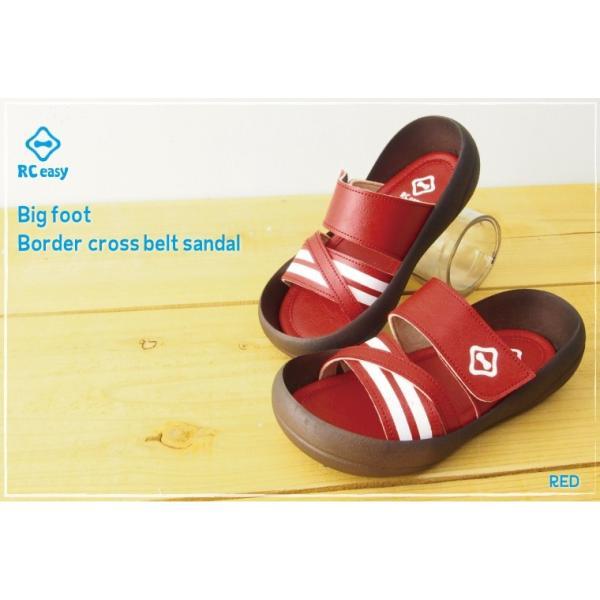 リゲッタカヌー サンダル キッズ 履きやすい クロス ベルト ボーダー sandal プレミアム セール SALE|gjweb|06