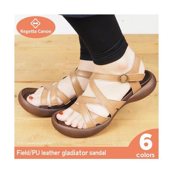 リゲッタカヌー サンダル レディース 履きやすい ぺたんこ グラディエーター gladiator sandal gjweb