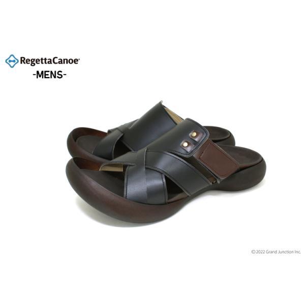 リゲッタカヌー サンダル メンズ おしゃれ クロス ベルト マジックテープ sandal|gjweb|02