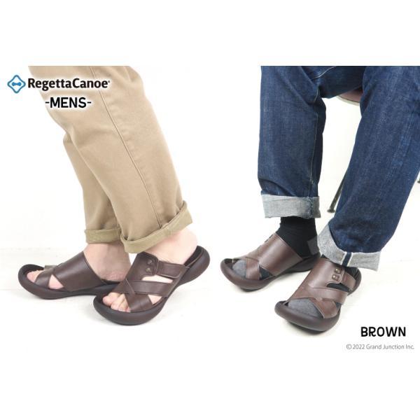 リゲッタカヌー サンダル メンズ おしゃれ クロス ベルト マジックテープ sandal|gjweb|03