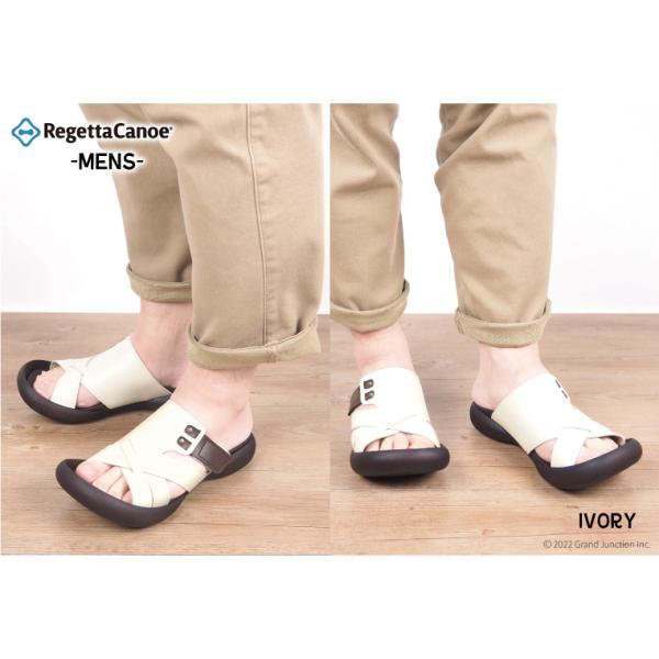 リゲッタカヌー サンダル メンズ おしゃれ クロス ベルト マジックテープ sandal|gjweb|04