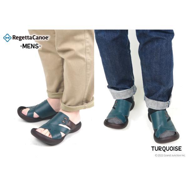 リゲッタカヌー サンダル メンズ おしゃれ クロス ベルト マジックテープ sandal|gjweb|05
