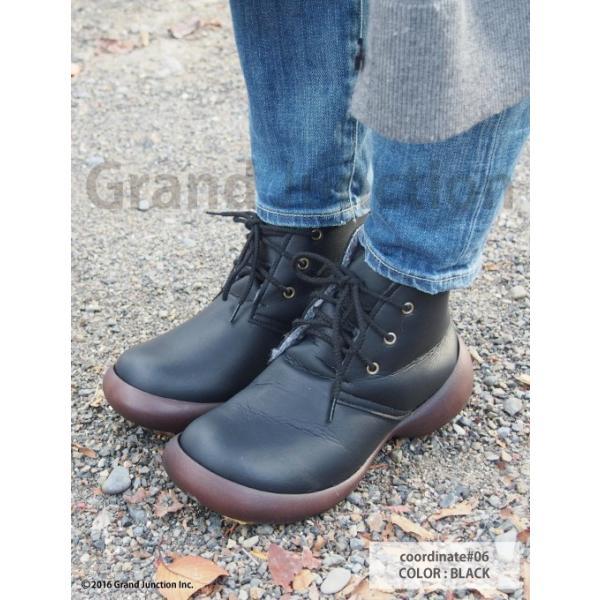 ブーツ レディース リゲッタカヌー ボア ショートブーツ 防滑 プレミアム セール SALE|gjweb|06