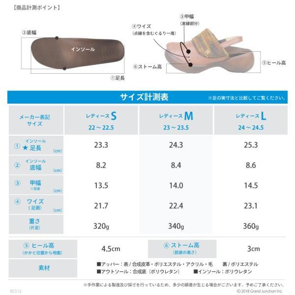 リゲッタカヌー サボ サンダル レディース 厚底 エッグヒール ストラップ ニット sabot sandal|gjweb|03