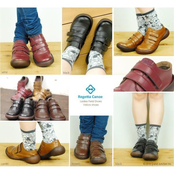 リゲッタカヌー レディース 靴 ベルクロ マジックテープ プレミアム セール SALE gjweb 11