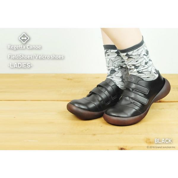 リゲッタカヌー レディース 靴 ベルクロ マジックテープ プレミアム セール SALE gjweb 03