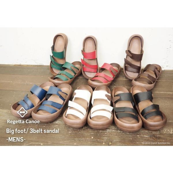 リゲッタカヌー サンダル メンズ おしゃれ ベルト マジックテープ PU 素材 sandal|gjweb|02