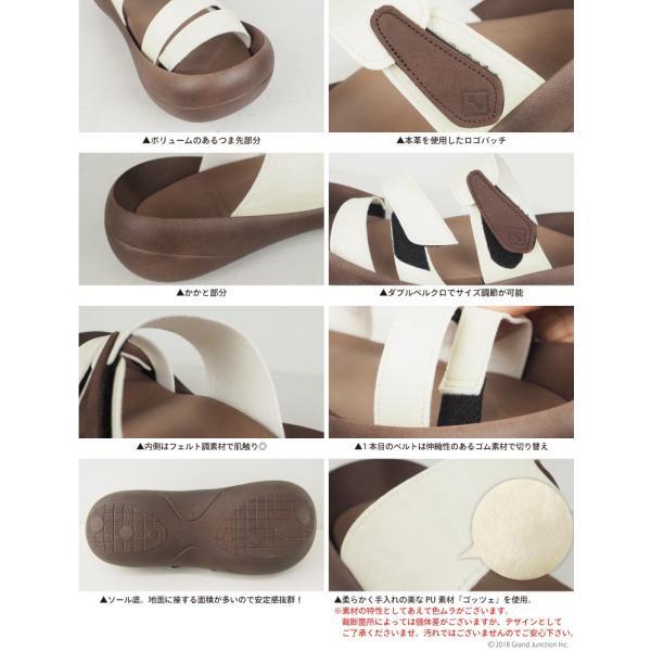 リゲッタカヌー サンダル メンズ おしゃれ ベルト マジックテープ PU 素材 sandal|gjweb|16