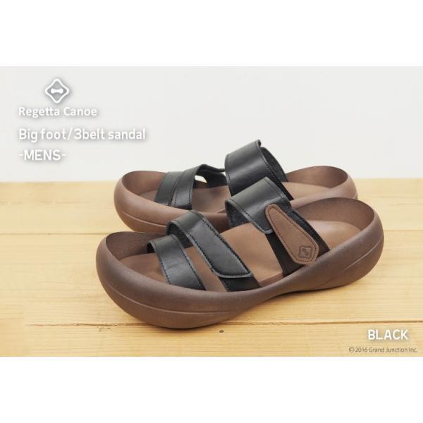 リゲッタカヌー サンダル メンズ おしゃれ ベルト マジックテープ PU 素材 sandal|gjweb|03