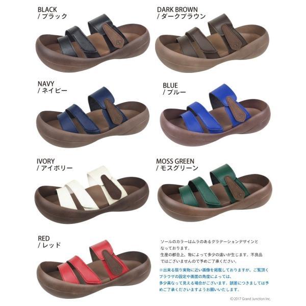 リゲッタカヌー サンダル メンズ おしゃれ ベルト マジックテープ PU 素材 sandal|gjweb|21