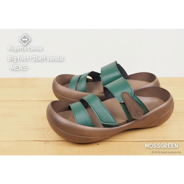 リゲッタカヌー サンダル メンズ おしゃれ ベルト マジックテープ PU 素材 sandal|gjweb|05
