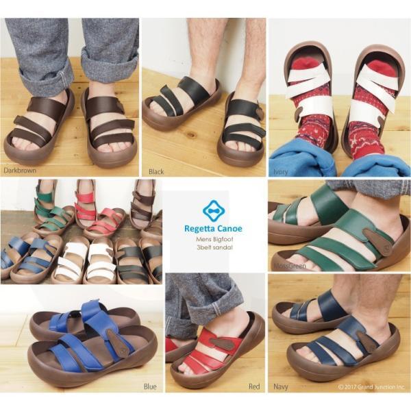 リゲッタカヌー サンダル メンズ おしゃれ ベルト マジックテープ PU 素材 sandal|gjweb|06