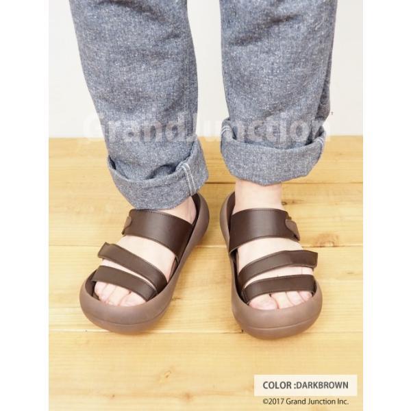 リゲッタカヌー サンダル メンズ おしゃれ ベルト マジックテープ PU 素材 sandal|gjweb|09