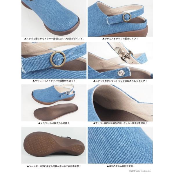 リゲッタ カヌー レディース サボ サンダル デニム ストラップ ウェッジ sandal|gjweb|12