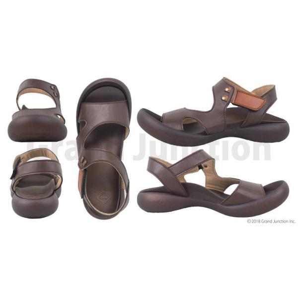 リゲッタ カヌー サンダル レディース 履きやすい ぺたんこ デザイン ベルクロ ストラップ sandal|gjweb|15