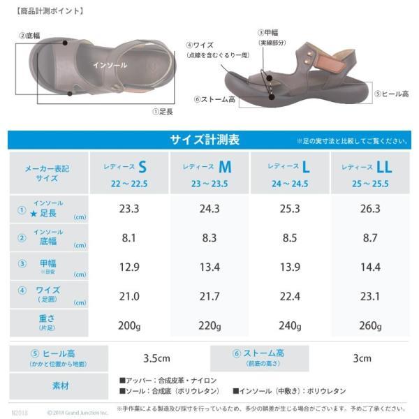 リゲッタ カヌー サンダル レディース 履きやすい ぺたんこ デザイン ベルクロ ストラップ sandal|gjweb|18