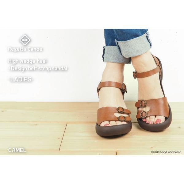 リゲッタ カヌー サンダル レディース ウェッジソール サンダル 厚底 ハイウェッジ ストラップ バックルベルト sandal|gjweb|04