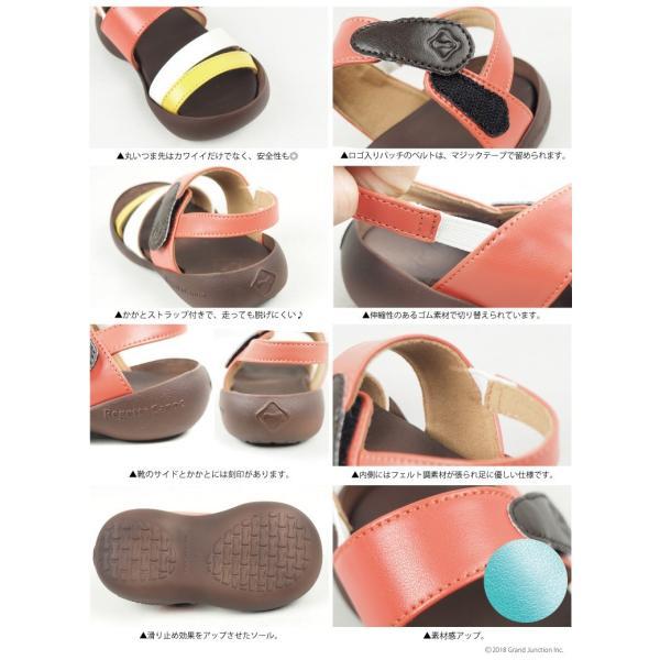 リゲッタ カヌー キッズ サンダル おしゃれ 男 女 ストラップサンダル 3本 ベルト sandal|gjweb|16